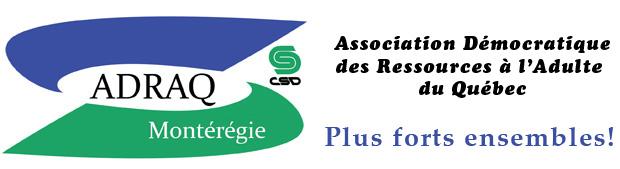 ADRAQ(CSD) Montérégie Logo